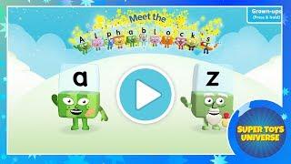 Download Let's Meet The Alphablocks Quick Look - iPhone/iPad app Video