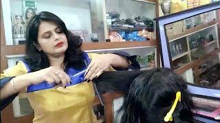Download Three step cutting, long to short hair cut 💇💇seema jaitly Video