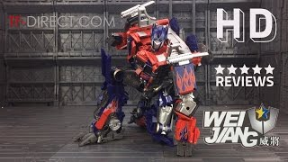 Download Wei Jiang Transformers M01 戰擎司令官 Commander Optimus Prime Video