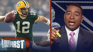 Download Cris Carter: 'I've never seen anyone throw the football like Aaron Rodgers' | FIRST THINGS FIRST Video