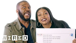 Download Taraji P. Henson & Tyler Perry Answer the Web's Most Searched Questions | WIRED Video