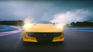 Download Chris Harris vs Ferrari F12tdf | Top Gear: Series 23 | BBC Video
