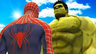 Download BIG HULK VS SPIDERMAN - THE INCREDIBLE HULK VS SPIDER-MAN (2002) Video