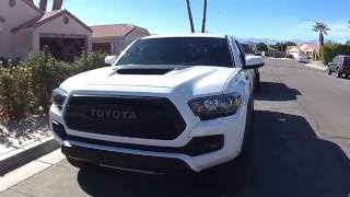 Download 2017 TOYOTA TACOMA TRD PRO Video