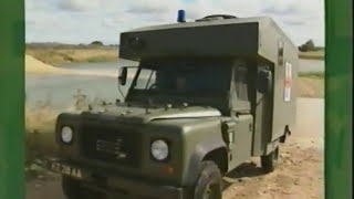 Download Land Rover Defender Wolf Sankey Trailer On Road and off Road Driving. British Army Training Part 2 Video