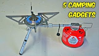 Download 5 Camping Gadgets put to the Test Video