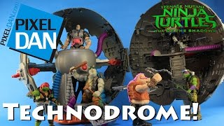 Download Technodrome Teenage Mutant Ninja Turtles Out of the Shadows Movie Playset Video Review Video