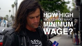 Download How High Would You Make the Minimum Wage? We Asked L.A. Residents. Video