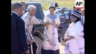 Download Mandela sees grandson reclaim family's traditional leadership role Video