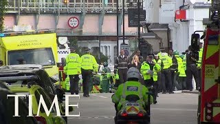 Download 22 Injured In Explosion On London Subway Train At Parsons Green Underground Station | TIME Video