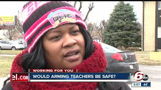 Download How realistic, and safe, would it be to arm some teachers in schools Video