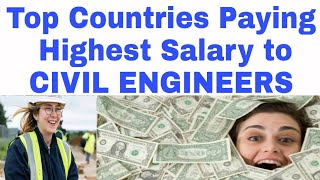 Download Top 12 Salary Paying Countries for Civil Engineers Video