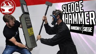 Download Sledge's Tactical Hammer DESTROYS ALL (from R6 SIEGE) Video