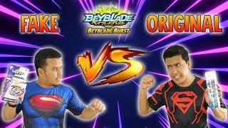 Download FAKE BOOTLEG VS ORIGINAL TAKARA TOMY - Beyblade Burst Cho-Z Turbo - Unboxing & Review Video