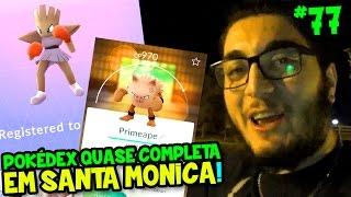 Download POKÉMON GO #77 - COMPLETEI A POKÉDEX EM SANTA MONICA PIER ?! Video