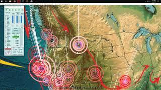 Download 2/04/2019 - West Coast USA / California Earthquake activity - Pacific quakes due next few days Video