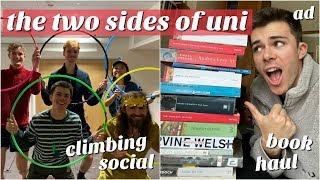 Download vlog: the two sides of university... (from book hauls to sports socials) Video