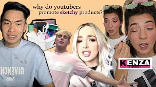 Download YouTubers Promoting Sketchy Products (Kenza Cosmetics, Mystery Box Gambling) Video