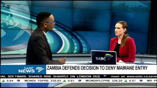 Download DISCUSSION: Maimane denied access into Zambia Video
