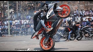 Download KTM RC 200 | KTM Duke 200 | KTM Stunt Show 2018 | New Awesome Stunt | Must Watch |HD Video