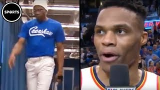 Download Russell Westbrook Honors Nipsey Hussle With 20-20-20 Game Video