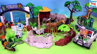 Download Playmobil Animals Zoo Playset Build and Play - Fun Toys For Kids Video