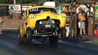 Download Old School GASSER and ALTERED Drag Racing Video