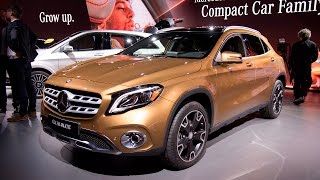 Download 2018 Mercedes-Benz GLA250 & AMG GLA45 First Look: 2017 Detroit Auto Show Video