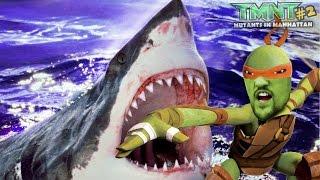 Download SHARKS in the SEWER? Michelangelo plays TMNT Mutants in Manhattan Part 2! Ninja Turtles ARMAGGON Video
