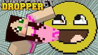 Download Minecraft: DROPPING ONTO A MASSIVE FACE! - Universal Dropper - Custom Map Video