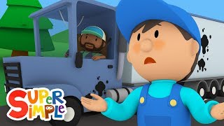 Download Bubba's Big Rig Needs A Good Scrub-A-Dub | Carl's Car Wash | Cartoons for Kids Video
