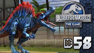 Download MEGA SPINOSAURUS || Jurassic World - The Game - Ep 58 HD Video