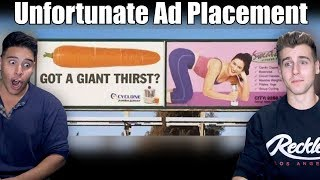 Download Unfortunate Advertising Placements Video