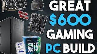 Download Great $600 KABYLAKE Gaming PC Build 1080p Gaming PC March 2017 Video