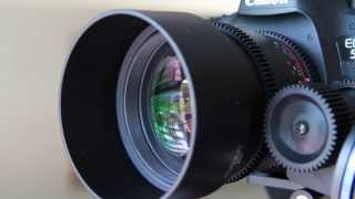 Download Rokinon 85mm t/1.5 Cine Lens Review Video