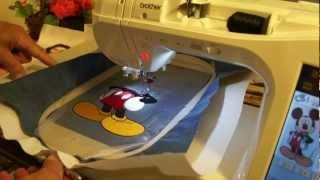 Download Brother embroidery. Innov-is 2800D demo # 8. Video