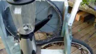 Download pedal-powered kitchen accessory (flour mill, juice, blender) Video
