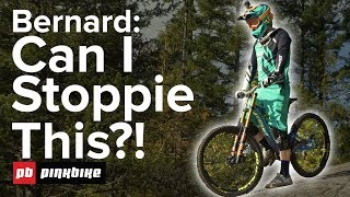 Download Can Bernard Kerr Stoppie On This INSANE Rock? Video