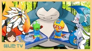 Download 잠만보 GX에 솔가레오 GX 카드가?!! ♥ 포켓몬 카드 게임 썬&문 컬렉션 뽀로로 장난감 놀이 [애니한TV] Video