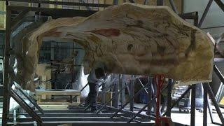 Download Lascaux cave replica nears completion Video