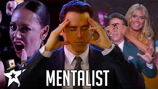 Download REAL Mind-Reader! Oz Pearlman The Mentalist on America's Got Talent | Magicians Got Talent Video