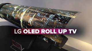 Download LG OLED TV rolls up like a piece of paper Video