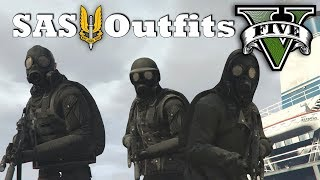 Download GTA V - SAS Outfits! New Top Military Custom Doomsday Heist Outfits Video
