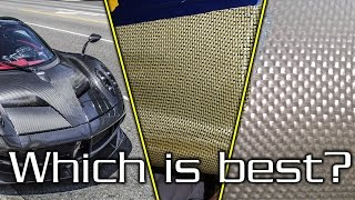 Download Carbon Fiber vs Kevlar vs Fiberglass - Which one is right for YOU? Video