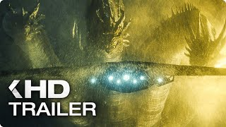 Download GODZILLA 2: King of the Monsters - 4 Minutes Trailers (2019) Video