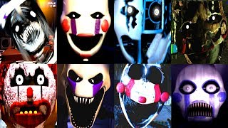 Download 30 MARIONETTE JUMPSCARES! | Iulitm | FNAF Fan Games Video