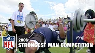 Download Strongest Man Competition (2006) | NFL Pro Bowl Skills Challenge Video