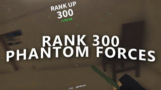 Download RANKING UP TO RANK 300 in PHANTOM FORCES!! (roblox) Video