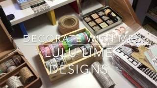 Download Decorating my New Travelers Notebook Insert Video