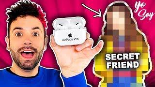 Download Mi Amigo SECRETO me regaló unos AirPods PRO Video